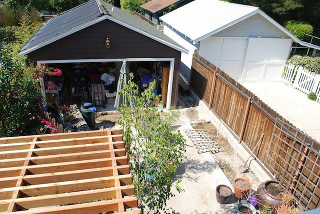 renovated garage to pool house (1)