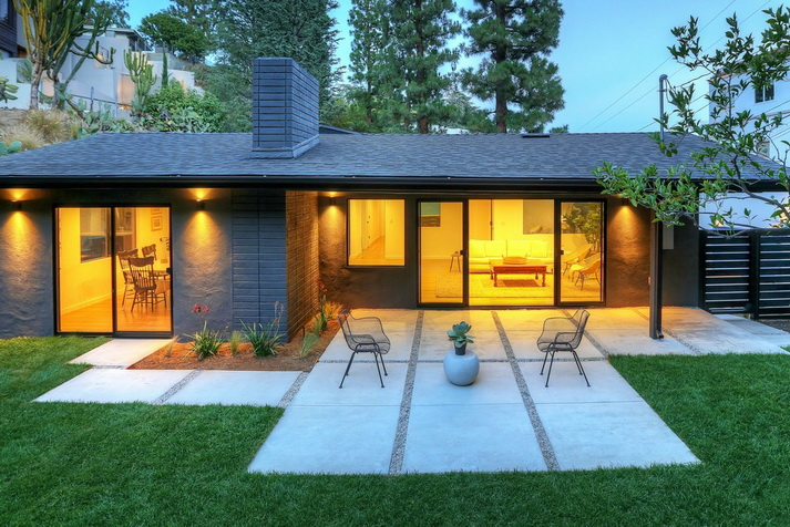 stylish modern concrete house (1)