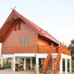 บ้านไม้ทรงใต้ถุน สัมผัสกับความคลาสสิคในแบบไทยๆ