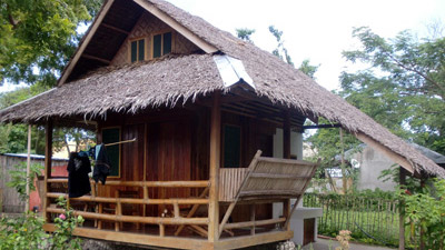 traditional native fan cottage (1)
