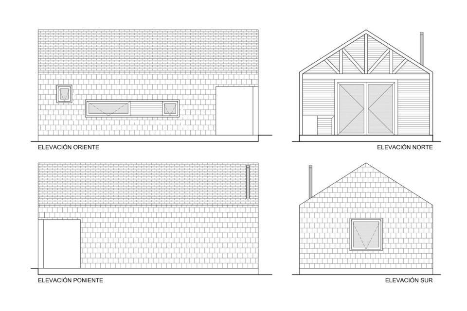 villa cabin modernised house (10)