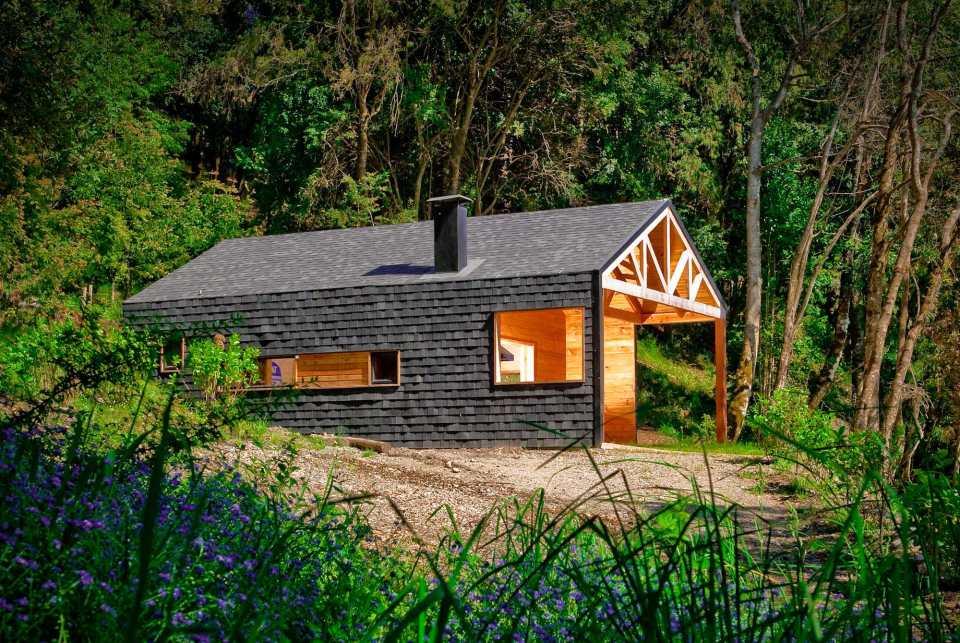villa cabin modernised house (2)