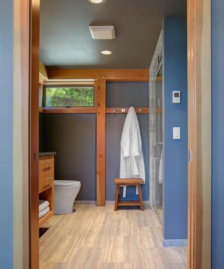 2 storey blue wooden villa (2)