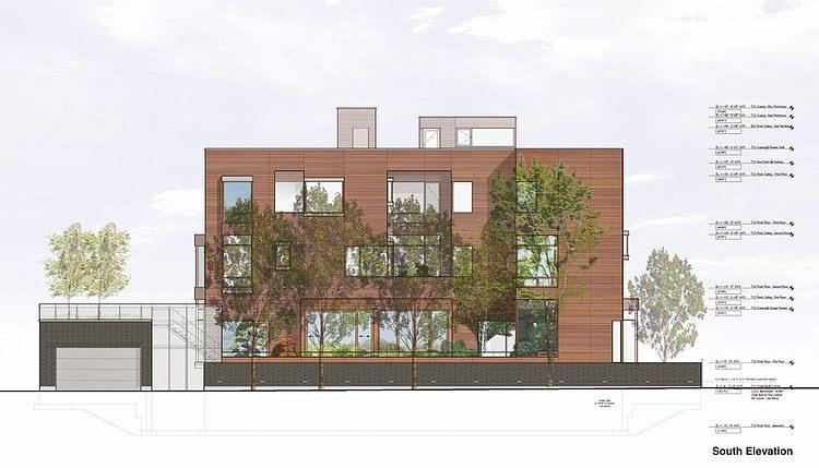 3 storey wooden modern contemporary house (12)