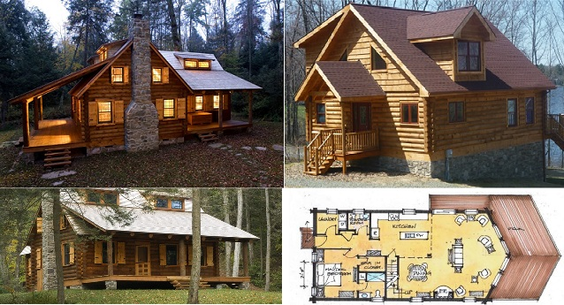 5 naibann for Cabin floor plans canada