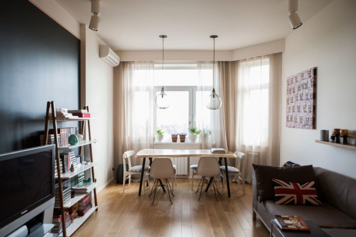 50 sqm one-bedroom apartment modern design (2)