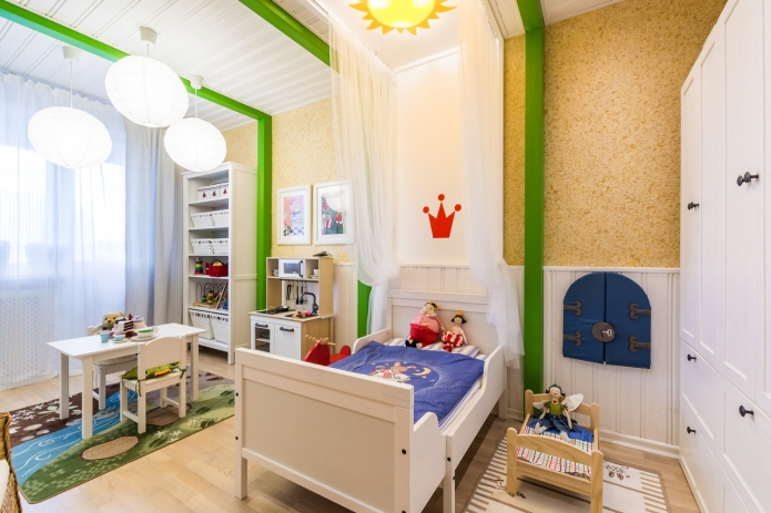Interior design children's 15 m. meters (1)