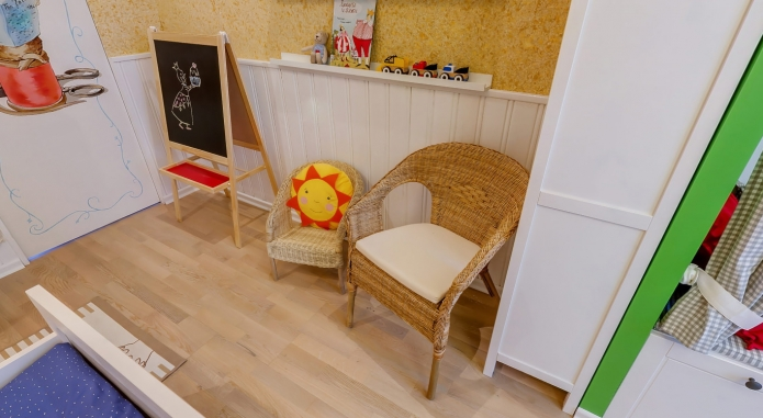 Interior design children's 15 m. meters (10)