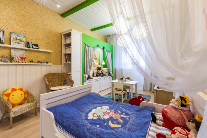 Interior design children's 15 m. meters (2)