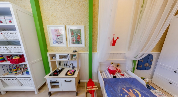 Interior design children's 15 m. meters (5)