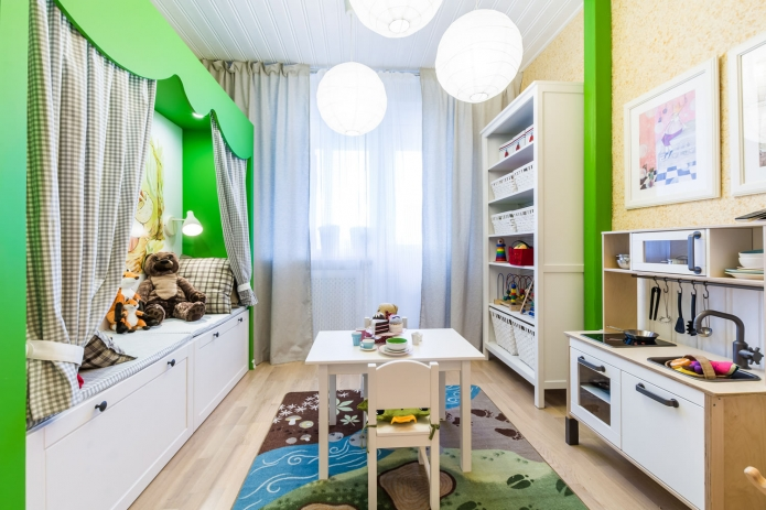Interior design children's 15 m. meters (6)