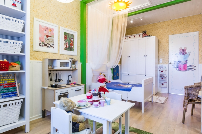 Interior design children's 15 m. meters (7)