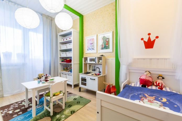 Interior design children's 15 m. meters (8)