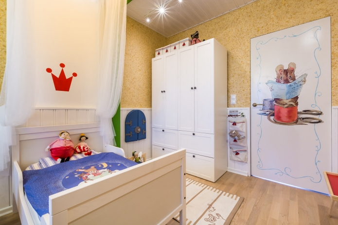 Interior design children's 15 m. meters (9)