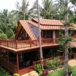 บ้านไม้ประยุกต์จากบาหลี สัมผัสบรรยากาศธรรมชาติแบบทรอปิคอล