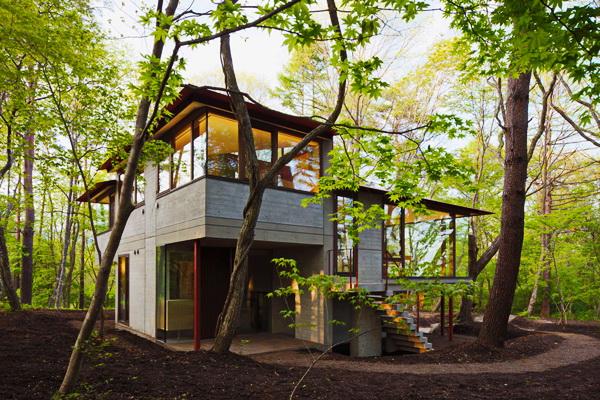 contemporary open concept house (6)