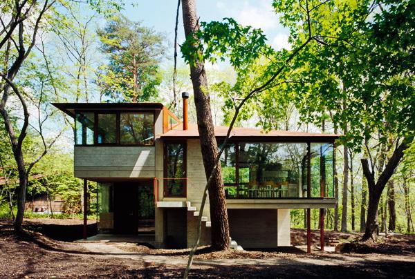 contemporary open concept house (8)