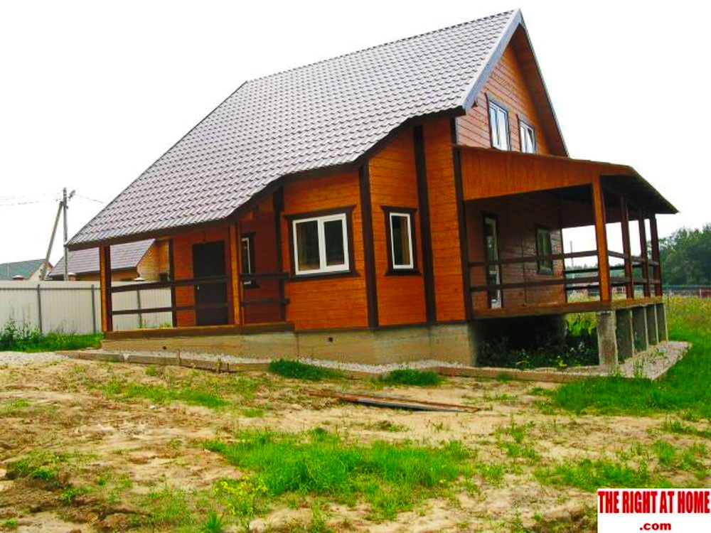 country wooden classical house (3)