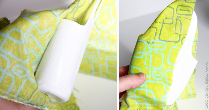 diy holder for cell phone from lotion bottle (14)