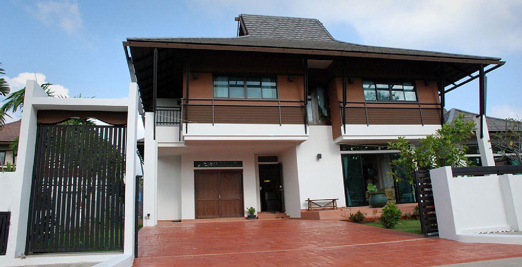 thai contemporary modern big house (17)