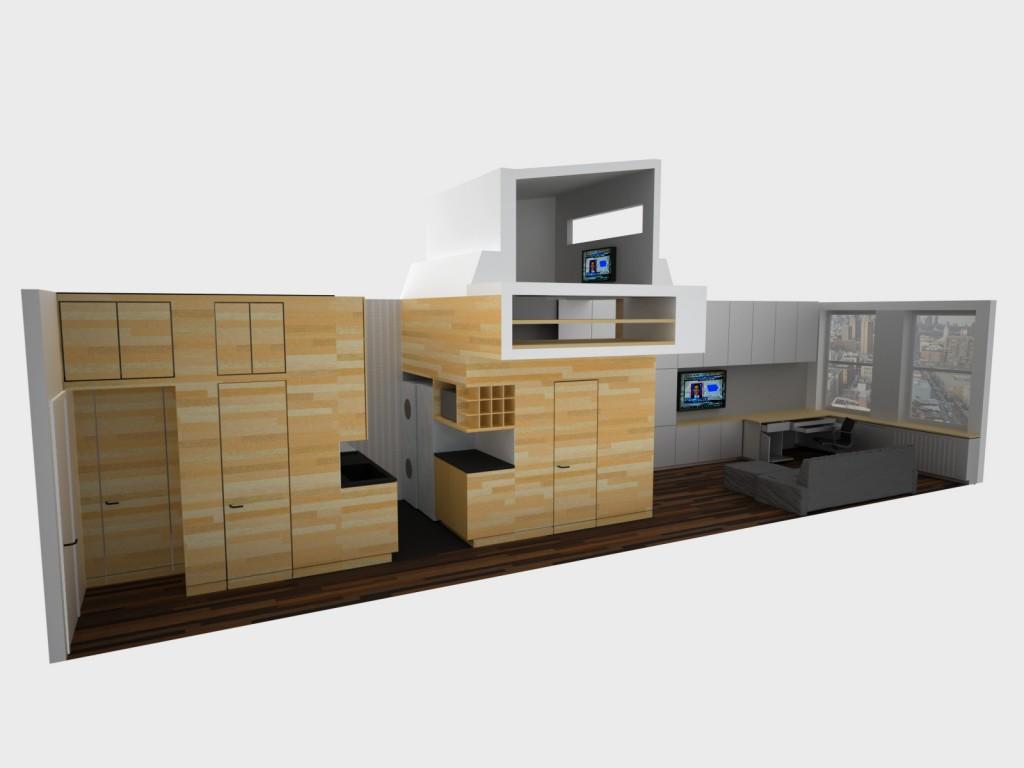 46 sqm modern apartment plan (4)