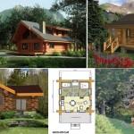 แจกฟรี 7 แบบแปลน บ้านไม้ขนาดเล็กใกล้ชิดธรรมชาติ