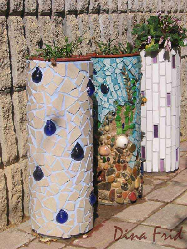 Mosaic Garden decoration ideas (13)