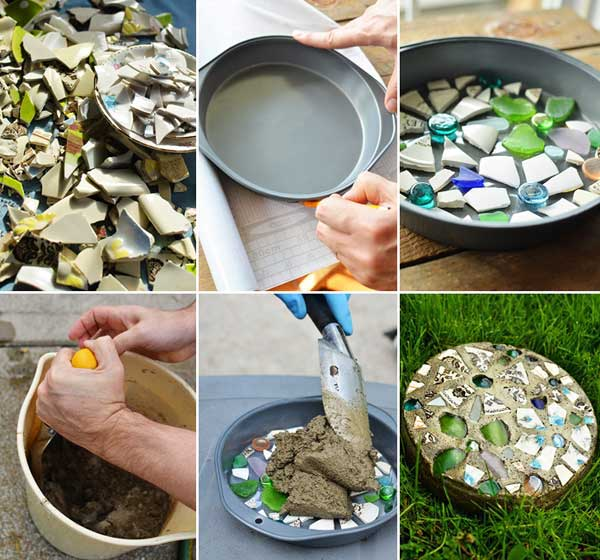Mosaic Garden decoration ideas (15)