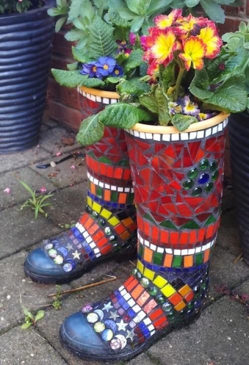 Mosaic Garden decoration ideas (17)