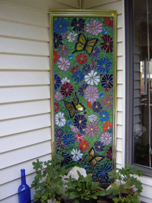 Mosaic Garden decoration ideas (19)