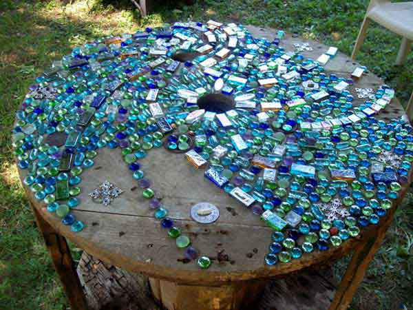 Mosaic Garden decoration ideas (20)