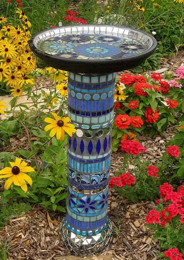 Mosaic Garden decoration ideas (21)