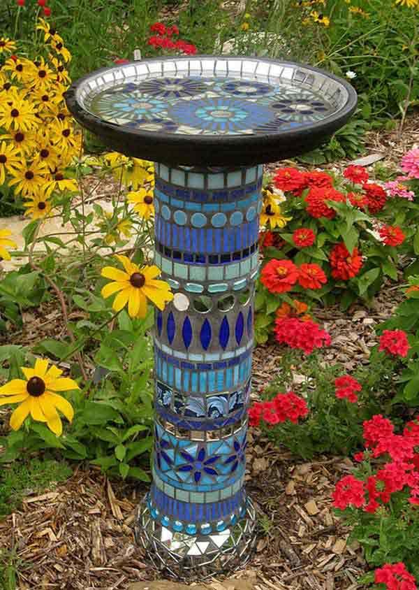 Mosaic Garden decoration ideas (21)