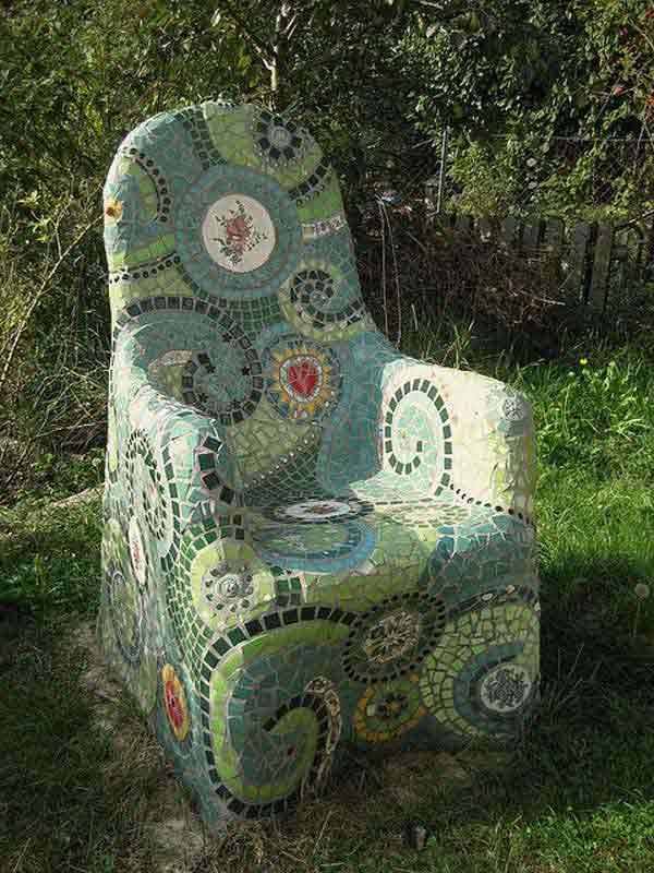 Mosaic Garden decoration ideas (22)