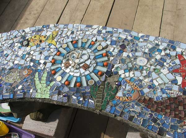 Mosaic Garden decoration ideas (23)