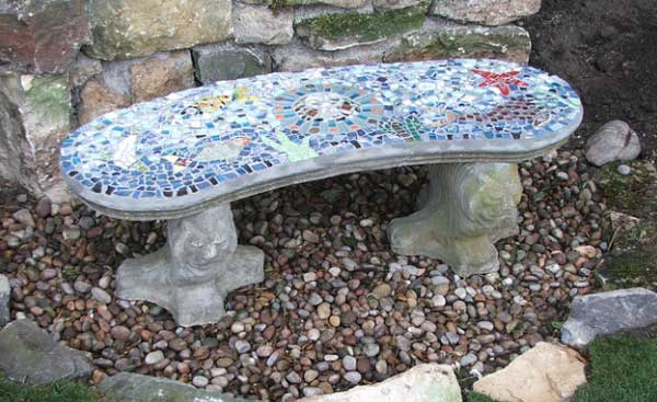 Mosaic Garden decoration ideas (24)