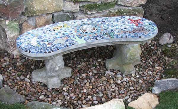 Mosaic Garden decoration ideas (24)