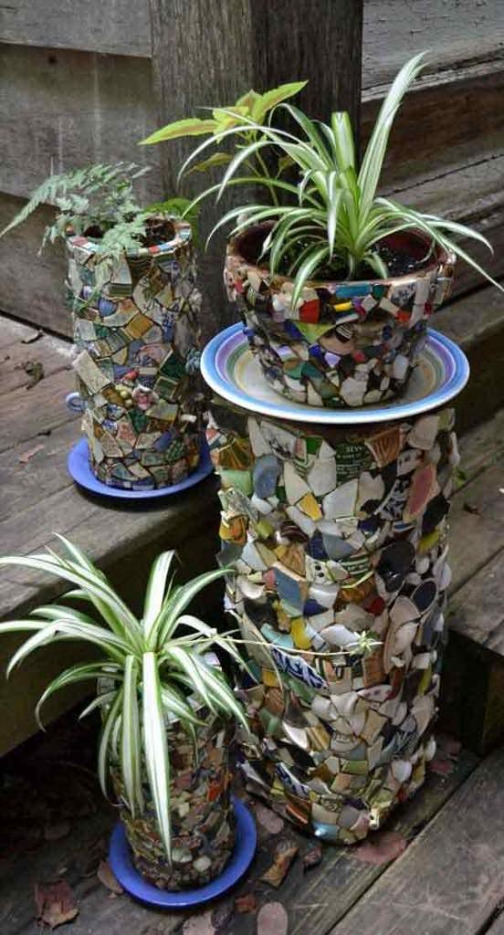 Mosaic Garden decoration ideas (26)