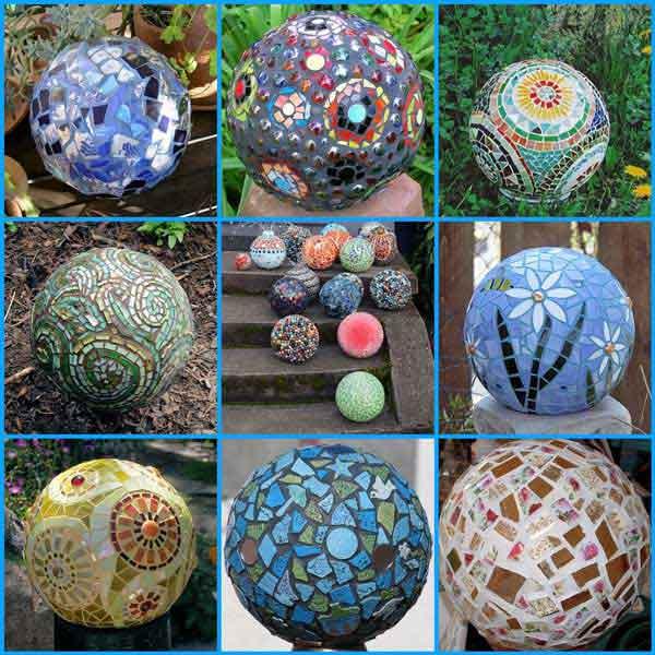 Mosaic Garden decoration ideas (28)