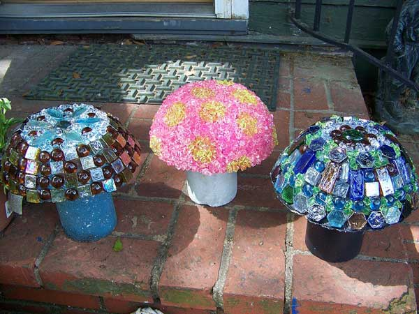 Mosaic Garden decoration ideas (3)