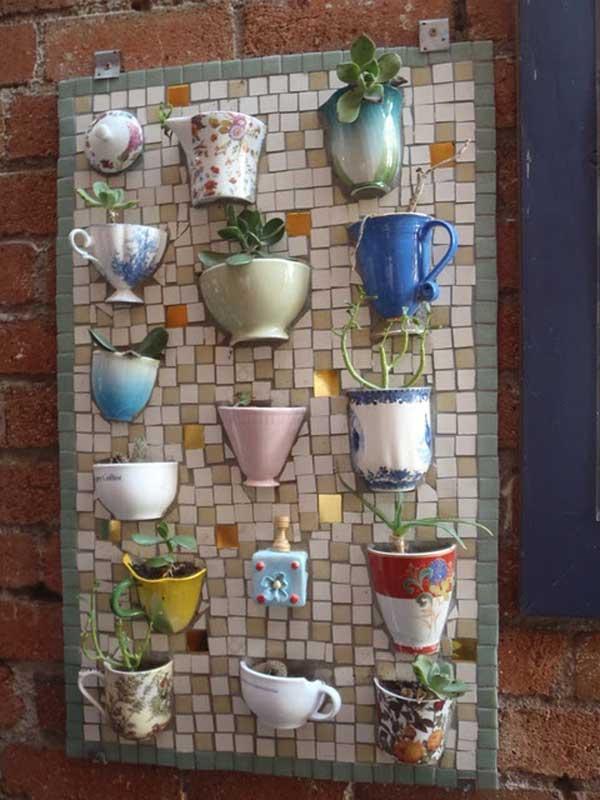 Mosaic Garden decoration ideas (5)