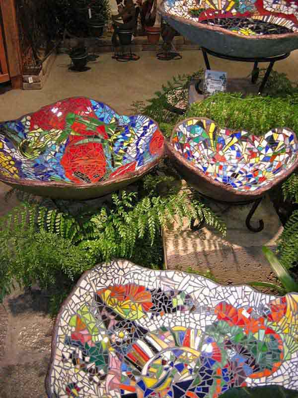 Mosaic Garden decoration ideas (7)