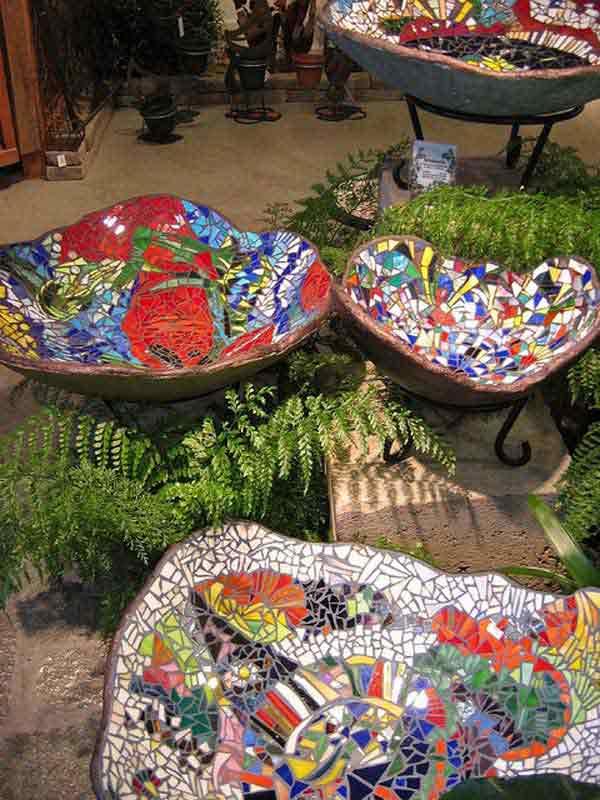 Mosaic Garden decoration ideas (7)