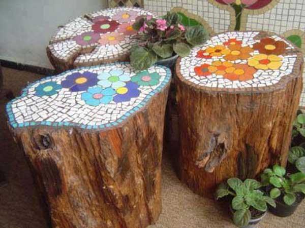Mosaic Garden decoration ideas (9)
