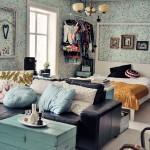 20 ไอเดีย : จัดสรรพื้นที่ห้องนอนเล็กๆ ให้ใช้งานได้ครบครัน