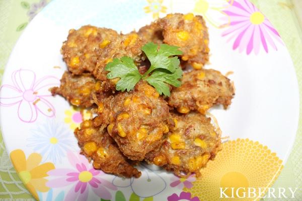 corn stuffed pork fried recipe (1)