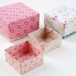 """DIY : วิธีพับกระดาษให้เป็นกล่องของขวัญเก๋ๆ สไตล์ """"ออริกามิ"""""""