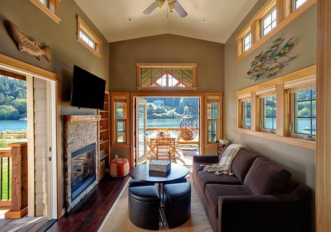 loft lakeside wooden retreat (2)