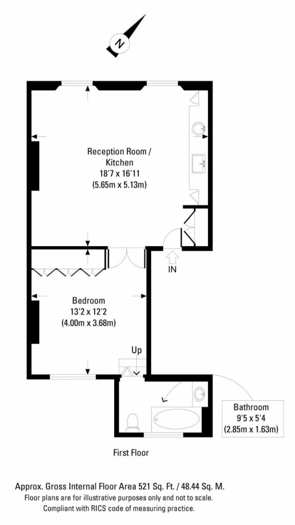 modern classic 48 sq mts apartment (9)