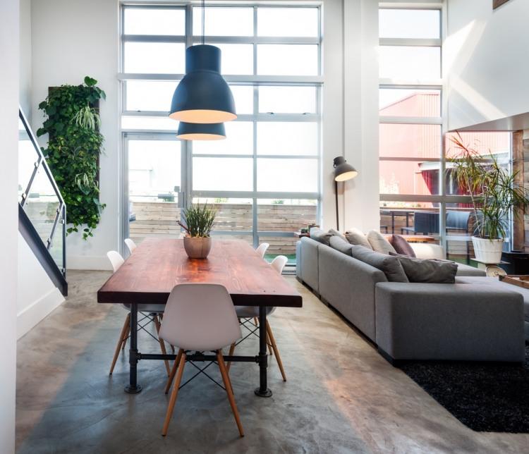 modern loft vintage interior design (2)
